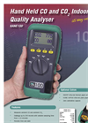 Kane 1001 Hand Held CO And CO2 Indoor Air Quality Analyser Brochure