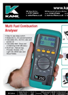 KANE 250 Combustion Analyser Brochure