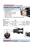 Model 215mm - Sealless Magnetically Coupled Pump Brochure