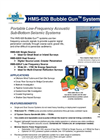 Bubble Gun - Model HMS-620 - Portable Low Frequency Acoustic Seismic Sub-Bottom Systems Brochure