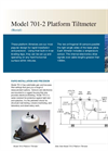 Model 420 - Clinometer Pak Inclinometer Brochure