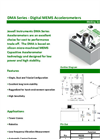 DMA Series Digital MEMS Accelerometers Brochure