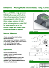 AMI Series Analog MEMS Inclinometers Brochure