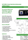 Model LCF-2330-L - Dual Axis Inclinometer Brochure