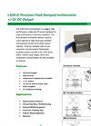 Model LSOX-D - Precision Fluid Damped Inclinometer Brochure