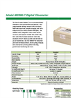 Model MD 900-T - Digital and Analog Clinometer Brochure