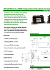 MEMS - Model JMA-165 Series - Analog Accelerometers with Heater Brochure