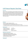 Model 619260 - Pressure Regulators Brochure