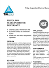 TriPOL 9010- RO Anti-Scalant Specification Sheet