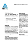 TriClean 210 - Low pH Acid Membrane Cleaner