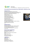 GWT Series - Model SWRO 46GPM- 37 MGD - Sea Water Reverse Osmosis Systems Brochure