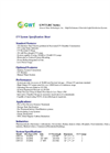GWT - Model LRC Series - Ultraviolet Light Disinfection Systems Datasheet