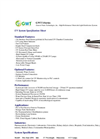 GWT - Model I-Series - Ultraviolet Light Disinfection Systems - Datasheet