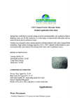 GWT Series - Natural Zeolite Filtration Media - Datasheet
