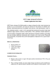 GWT Series ZeoTurb - Water Clarification Medium Datasheet