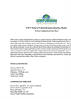GWT Series Specialized Natural Calcite Remineralization Media - Datasheet