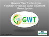 Genesis Water Technologies Produced Waste Water Reuse Systems (PWRS) - Brochure