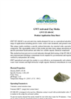 GWT ET-100-OC - Activated Clay Media Product Application Datasheet
