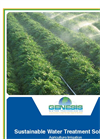 Sustainable Water Treatment Solutions - Agriculture/Irrigation, Food/Beverage Processing Sectors Brochure