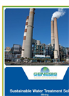 Sustainable Water Treatment Solutions - Mining, Power Generation, Oil & Gas, Petrochemical Industry Brochure
