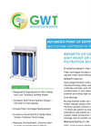 GWT Portable Multi-stage Filtration System - Humanitarian/Off-Grid