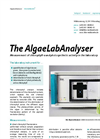 AlgaeLab - Laboratory Analyser Brochure