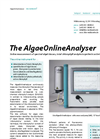 AlgaeOnline - Algae Monitoring Analyser Brochure