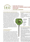 Sage Rio - Thermal Mass Flow Meter Brochure