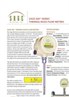 Sage - Model 300 - Thermal Mass Flow Meter Brochure