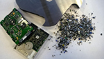Shredding solutions for secure destruction of the hard disk