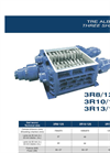 SatrindTech - Model 3R8/125 - 3R10/125 - 3R13/125 Power 125 HP - 3 Shaft Shredder - Datasheet