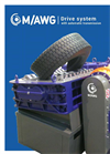 SatrindTech - Model M/AWG - Shredder Drive System With Automatic Transmission - Brochure