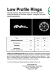 Low Profile Rings Brochure