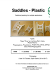 Saddles Plastic Brochure