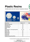 Plastic Resins Brochure
