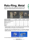 Ralu-Ring, Metal Random Metal Packing Brochure