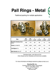 Raschig Pall Rings - Metal Brochure