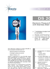 DS200 Electronic Pressure Switch Datasheet