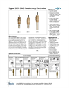 Signet 2839 to 2842 Conductivity Electrodes Datasheet