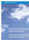 HFC-containing Propellants in Canned PU Foam (OCF) pdf