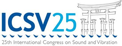 The 25th International Congress on Sound and Vibration (ICSV25)