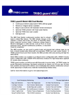 TRIBO guard II - Model 4002 - Dust Monitor Datasheet