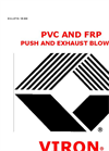 PVC/FRP Push/Exhaust Blowers-VPB-800