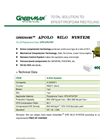APOLO - Model SWD - Contaminated Polystyrene Foam System Brochure