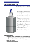OxyGuard - Model 420 - Dissolved Oxygen Probe with Built-in Transmitter Brochure