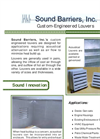 Custom-Engineered Acoustical Louvers Brochure