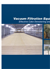 Vacuum Disc Filter – Brochure