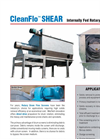 CleanFlo - SHEAR - Rotary Drum Fine Screen – Brochure