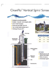 CleanFlo - Vertical Spiral Screen – Brochure