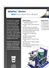 AltaPac - Ultrafiltration Package System – AP II Brochure